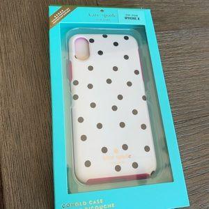 Kade Spade Dancing Dot iPhone X/XS Case